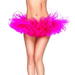 Dresses & Skirts - Adult Pink Dance Organza Tutu Skirt One Size